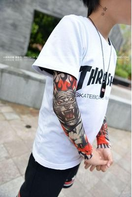 30cm Kid Arm Sleeve Summer Sleeve Children Tattoo Sleeve
