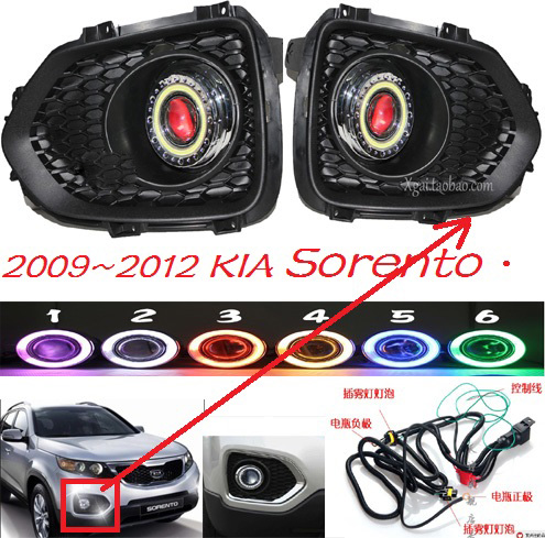 Sorento fog light 2009~2012 Free ship!Sorento daytime light,2ps/set+wire ON/OFF:Halogen/HID XENON+Ballast,Sorento mazd cx 5 fog light led 2015 2016 free ship mazd cx 5 daytime light 2ps set wire on off halogen hid xenon ballast cx 5 cx5