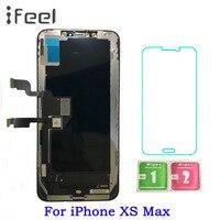 ЖК дисплей для iPhone XS Max + сенсорный экран с заменой дигитайзера для iPhone XS Max ЖК экран