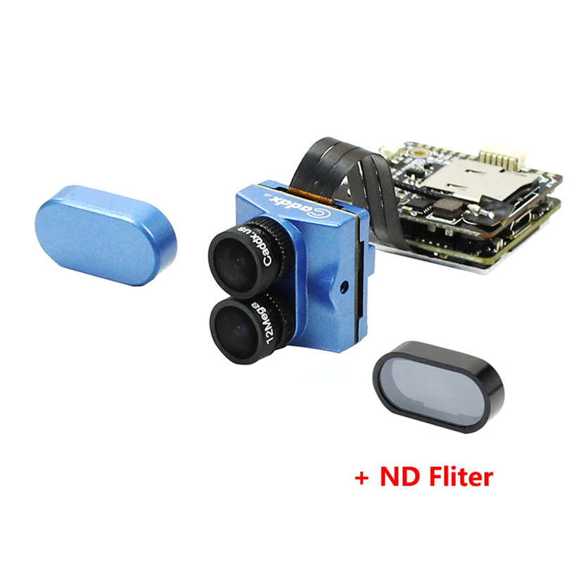 Caddx us Tarsier 4K 30fps 1200TVL Dual Lens Super WDR WiFi Mini FPV Camera HD Recording DVR Dual Audio OSD for RC Racing Drone in Parts Accessories from Toys Hobbies