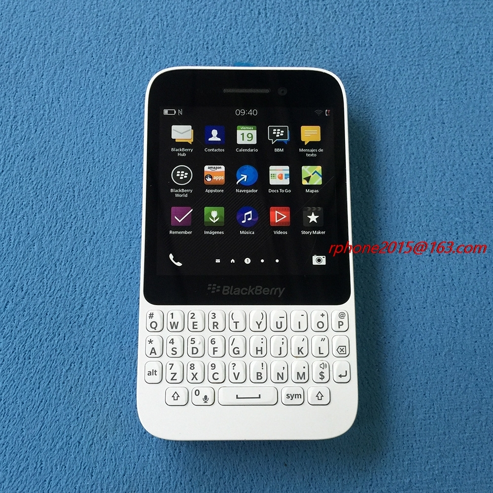 """Original Refurbished Blackberry Q5 Mobile phone Unlocked 2GB RAM GSM Dual Core 3.1"""" 5MP WIFI GPS ROM 8GB QWERTY Keyboard-in Cellphones from Cellphones & Telecommunications    2"""