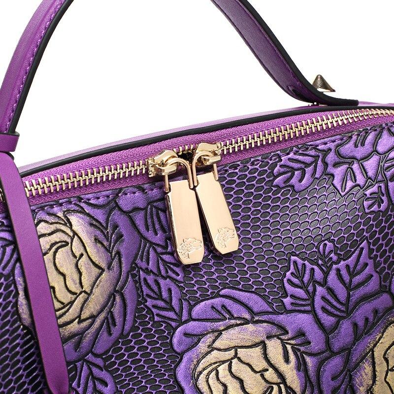 Zooler caliente bolso de cuero de las mujeres famosas marcas bolso de cuero genu