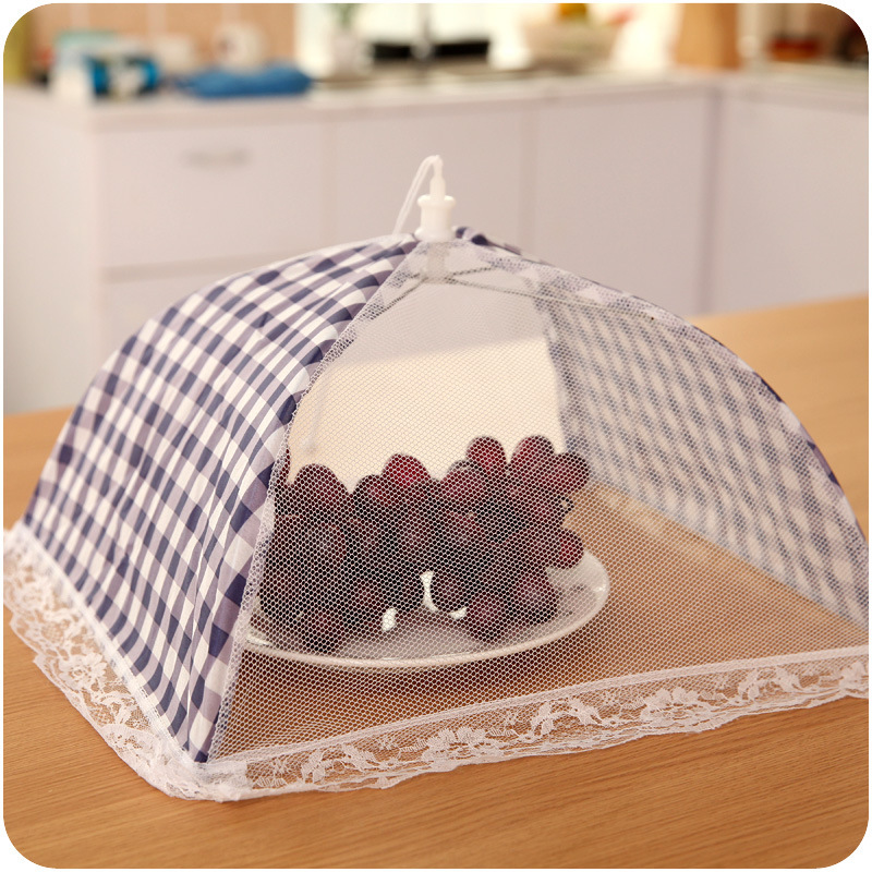 Small Drink Table Part - 46: Square Folding Anti Fly Mosquito Cooking Tulle Lace Table Food Covers  Outdoor Picnic Cake Meal Drink Fruit Small Random Color