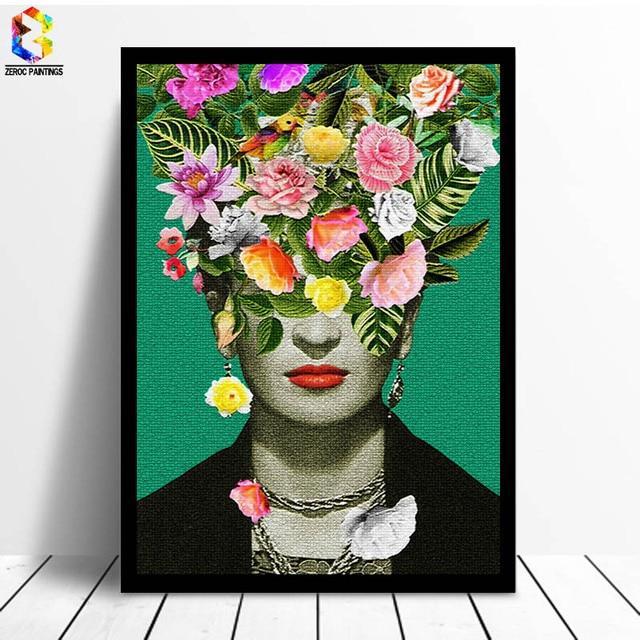 Frida Kahlo Cuadro Decorativo