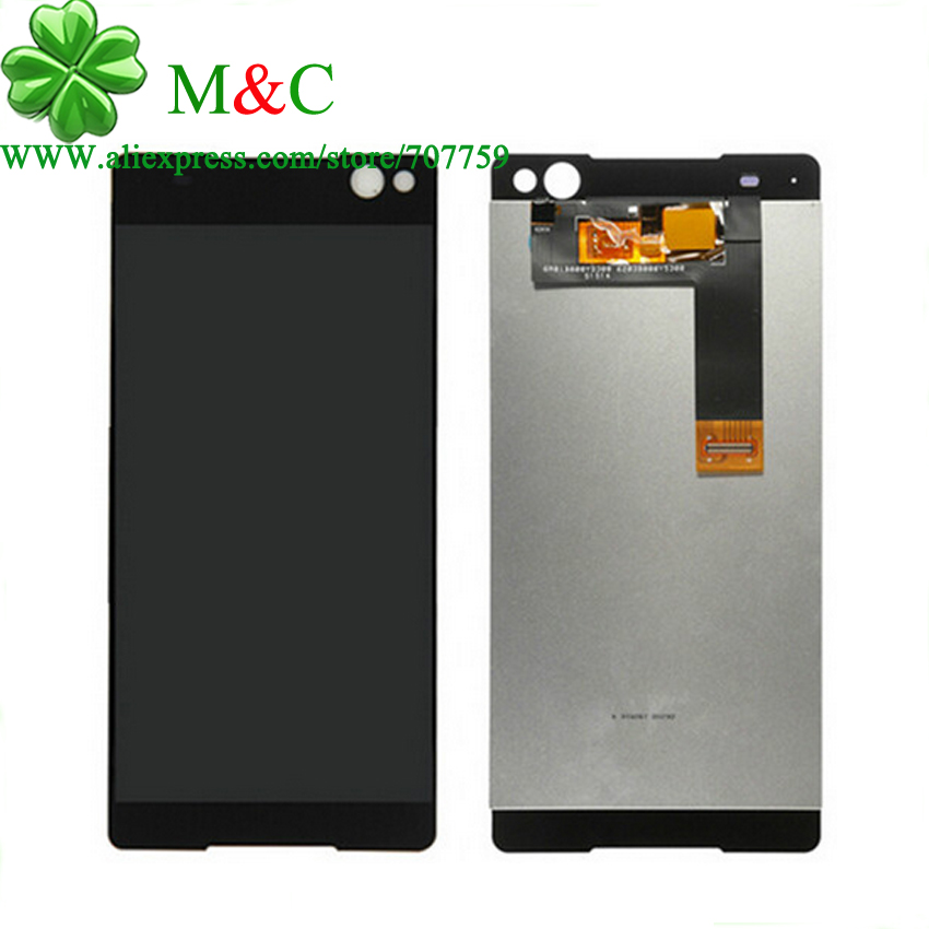 ФОТО Original Tested LCD Screen For Sony Xperia C5 Ultra LCD Display With Touch Screen Digitizer Assembly Free ship+track