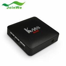 S912 KM8 PRO Amlogic Android 6.0 Caixa de TV Núcleo octa 2 GB 8 GB 2.4G/5G WiFi KODI 17.0 IPTV Europa Media Box Smart TV jogador