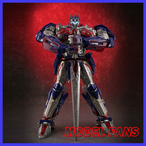 MODEL <font><b>FANS</b></font> in-stock Unique <font><b>Toys</b></font> UT <font><b>Transformation</b></font> robot TF R-02 knight OP Challenger metal contain led light action figure <font><b>toy</b></font> image
