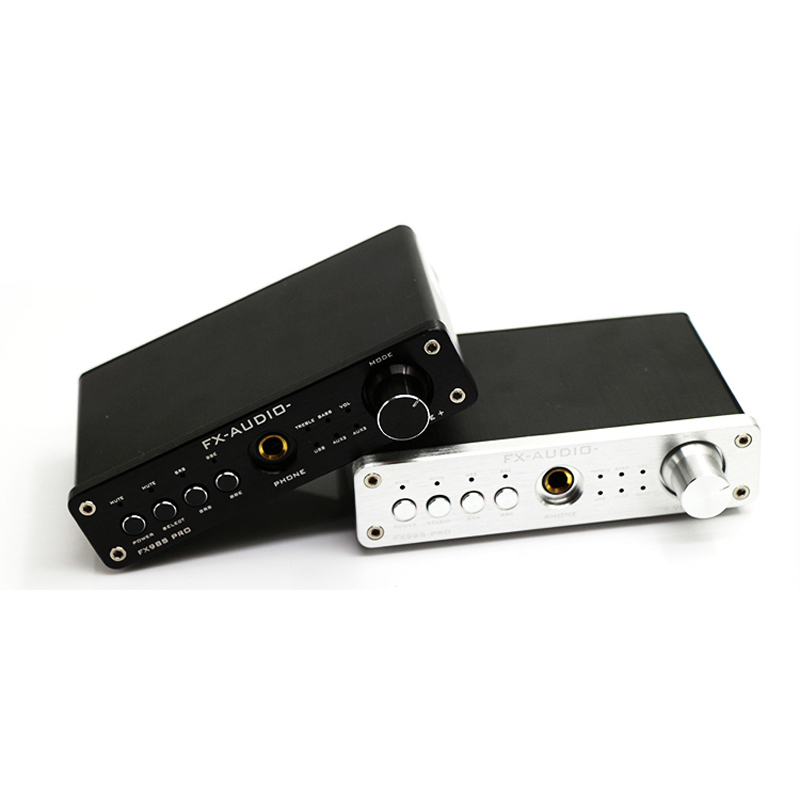 FX-98S amplificador upgraded version of USB processor PR0 decoding DAC PCM2704 MAX9722 pre-amp JRC NJW1144 audio amplifier