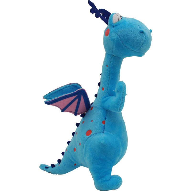 Doc Mcstuffins Clínica 28 cm Bebê Cordeiro Recheado Ovelhas Médico Menina Dragão Azul Hipopótamo De Pelúcia Bonecas Animais Brinquedos para As Crianças presente de natal