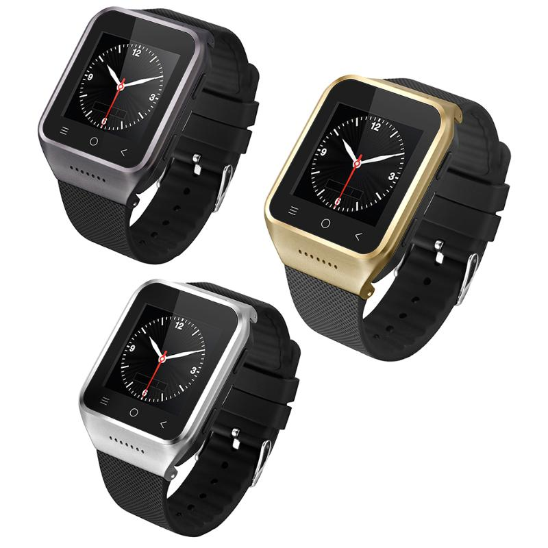 Smart Watch Wi-Fi Bluetooth 4.0 Phone GPS Touch Screen Android 4.4 Dual Core 3G Network 3.0MP Camera for Android Smartphone 9100 4 1 capacitive screen android 2 3 dual sim 3g wcdma smartphone w wi fi gps black