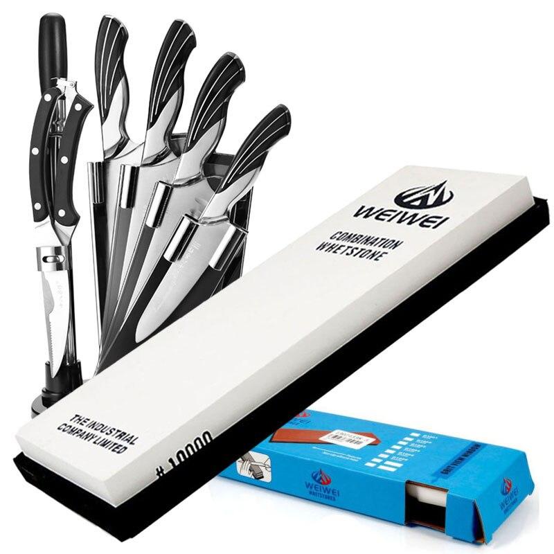 New 10000 Grit Oilstone Knife Razor Whetstone Knife Sharpening Stone Waterstone whetstone sharpening stone kitchen knife