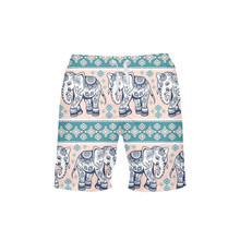 VEEVAN Men Board Shorts Animal Elephant Dog Cat 3D Printing Beach Shorts Quick-dry