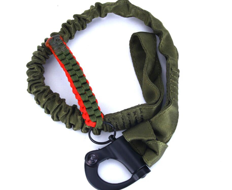 Военная быстросъемная стрельба тактическая CS игровая безопасная веревка для спорта на открытом воздухе многофункциональная эластичная винтовка Слинг