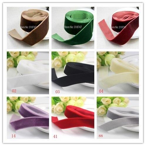 1 «25-мм 26 мм ширина бархатная лента для упаковки и украшения (2 ярдов/партия) 040003005003