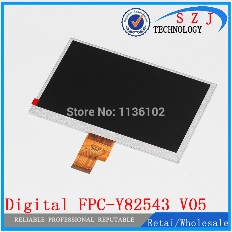 Original 7'' inch tablet pc LCD display for Aoson M723 Tablet Display screen 40pin HD LCD screen FPC-Y82543 V05 Free shipping  new 7 inch lcd display for digital fpc y82858 v02 lcd screen display panel for tablet pc free shipping