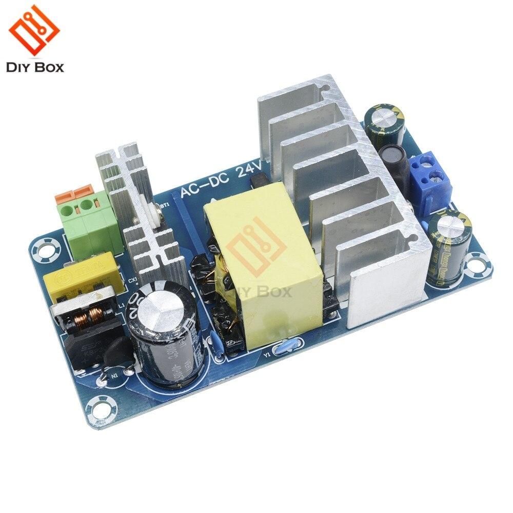 Модуль питания AC 110v 220v к DC 24V 6A к 8A AC-DC импульсный источник питания 6A-8A 50 HZ/60 HZ 100W