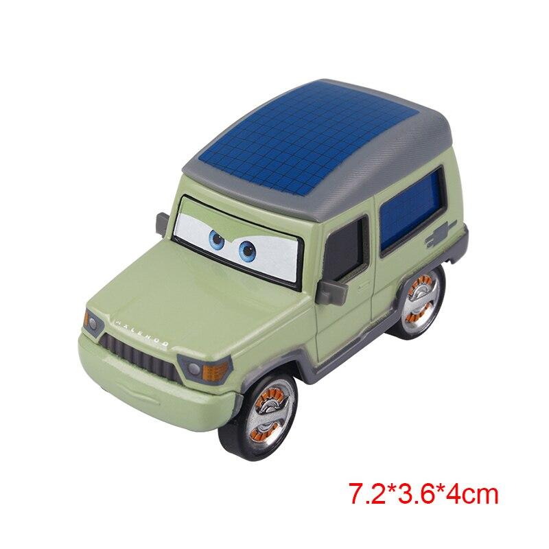 Дисней Pixar Тачки 2 3 Молния Маккуин матер Джексон шторм Рамирез 1:55 литье под давлением автомобиль металлический сплав мальчик малыш игрушки Рождественский подарок - Цвет: Axelrod
