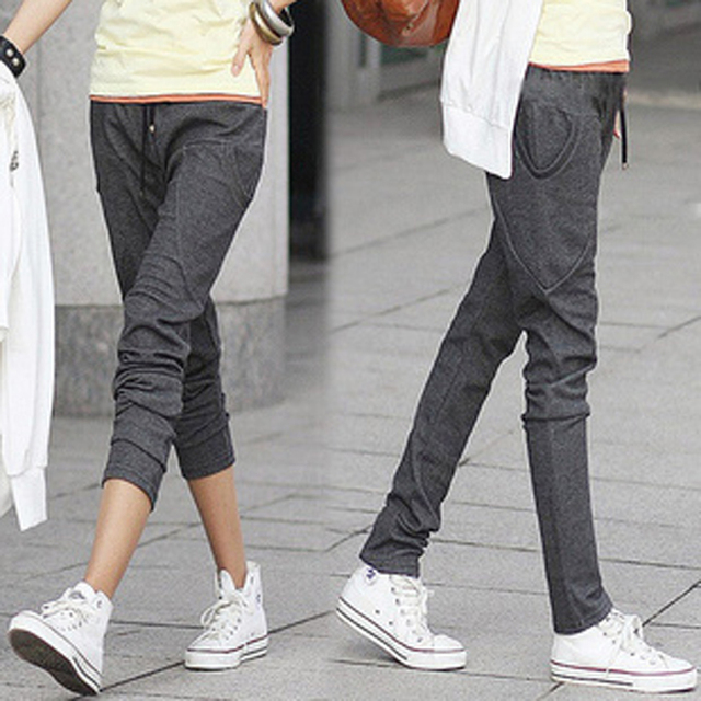 Women Jogger Pants 2015 New Fashion Women Emoji Joggers Harem ...