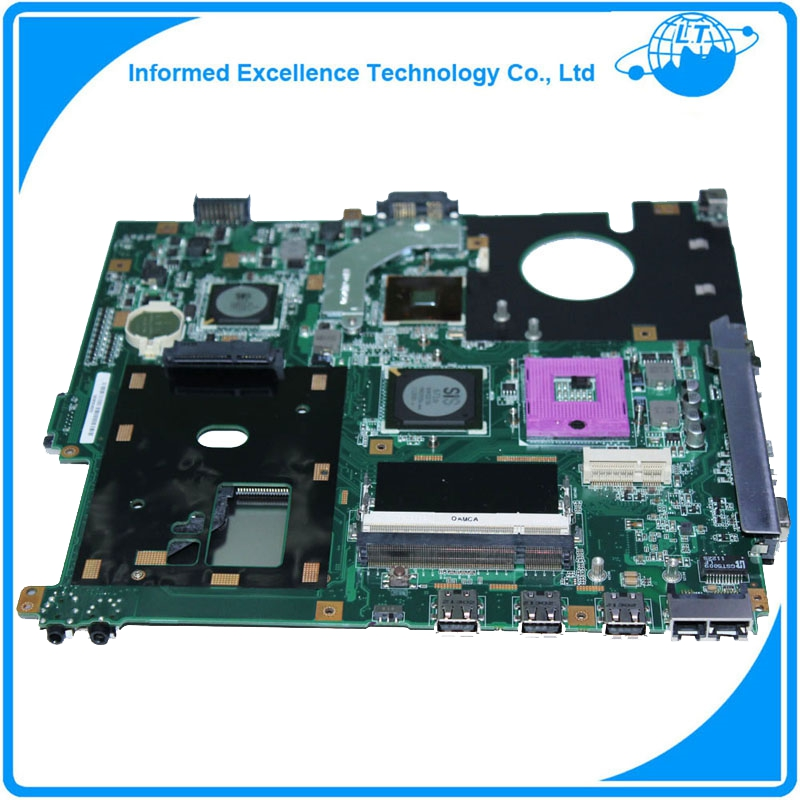 In stock! Original For Asus laptop X61S F50SL REV:2.1 Motherboard Mainboard Working Perfect & Free Shipping original new laptop motherboard for asus k52jc rev 2 1 ddr3 n11m ge2 s b1 mainboard