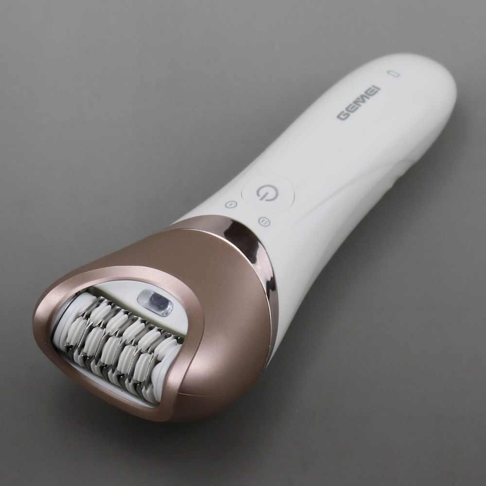 5in1 asciutto bagnato donne rasoio femminile epilatore rasatura macchina di rimozione dei capelli della signora trimmer epilatore per il viso, bikini, corpo, gambe, ascelle