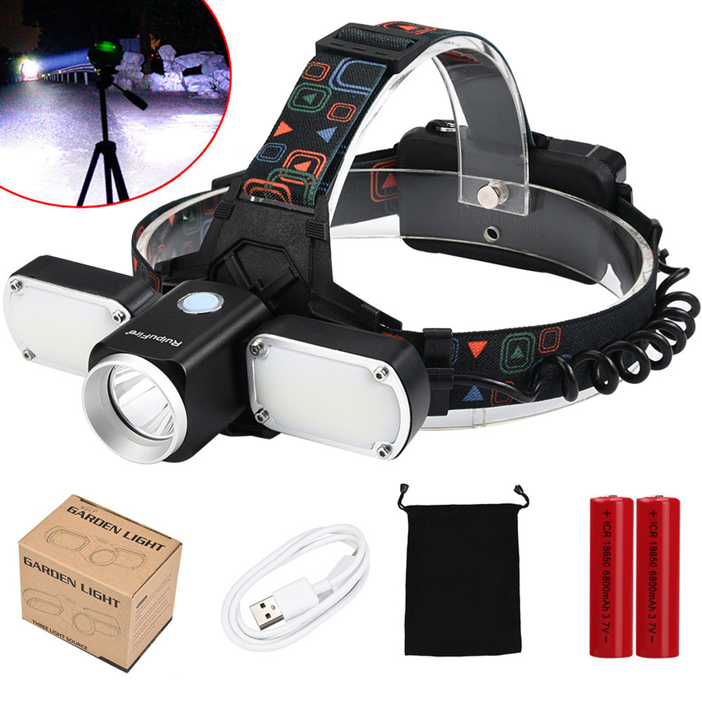 Bicycle Cycling Light Waterproof 4 modes 5000LM XM-L T6 +2 LED USB Charge Adjustable headlamp Headlight Travel Head Torch Set A1 3800 lumens cree xm l t6 5 modes led tactical flashlight torch waterproof lamp torch hunting flash light lantern for camping z93