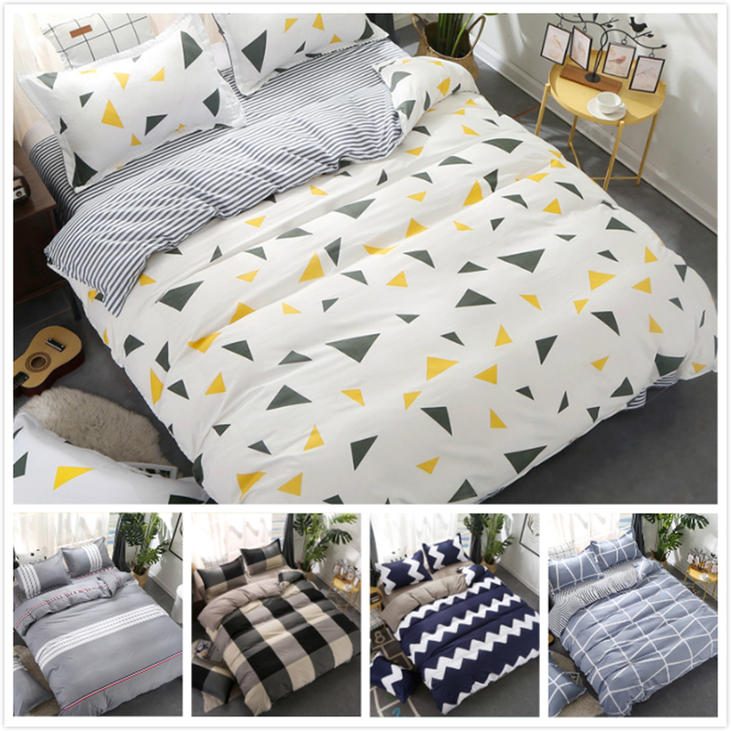2018 New Fashion Creative 3/4 pcs Bedding Set Full King Queen Twin Double Single Size Duvet Cover Kids Child Bed Linen 1.5m 1.8m