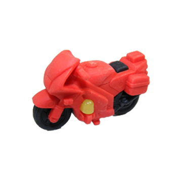 Sports Motorcycle Eraser Racing Vehicle Eraser So Cheap Price Eraser With The Finest Quality  2 Pieces Per Lot