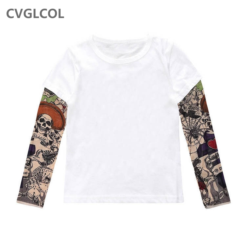 Hot sale New 2018 Kids Baby Girls Boys Popular Hero T-shirt long Sleeve kids Tops, cotton children's tops(China)