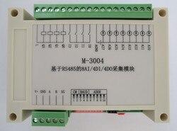 RS485 Data Acquisition Module 8AI/4DI/4DO Modbus RTU Communication