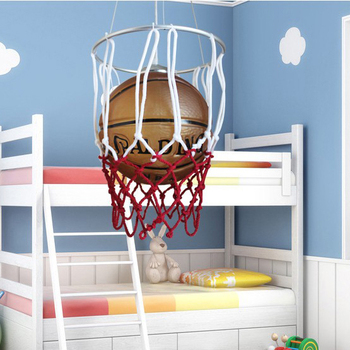 Basketball genuine special children's room lighting fixtures minoxidil Iron led modern minimalist living room chandelier ET20