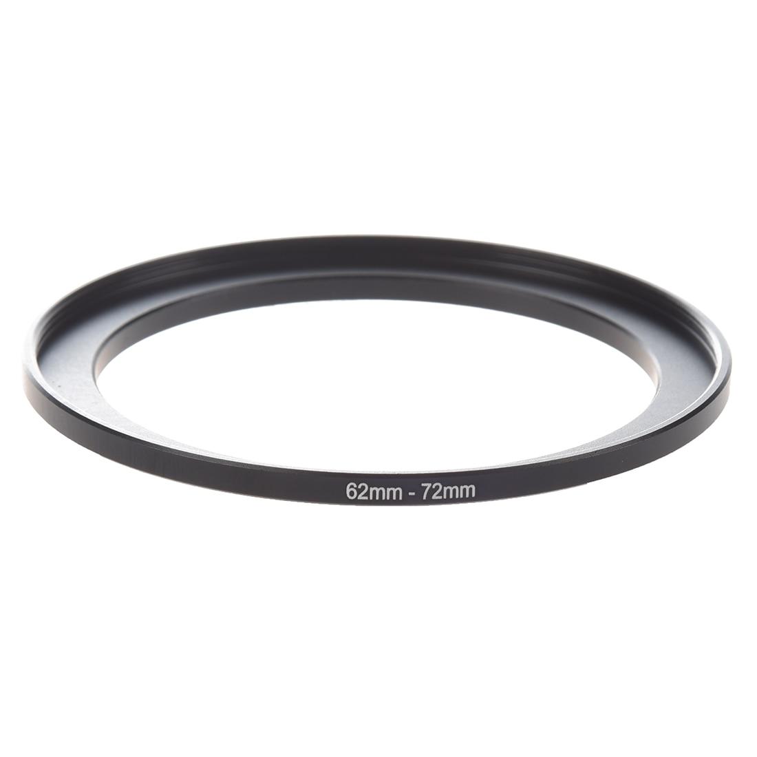 Camera Parts 62mm-72mm Lens Filter Step Up Ring Adapter Black