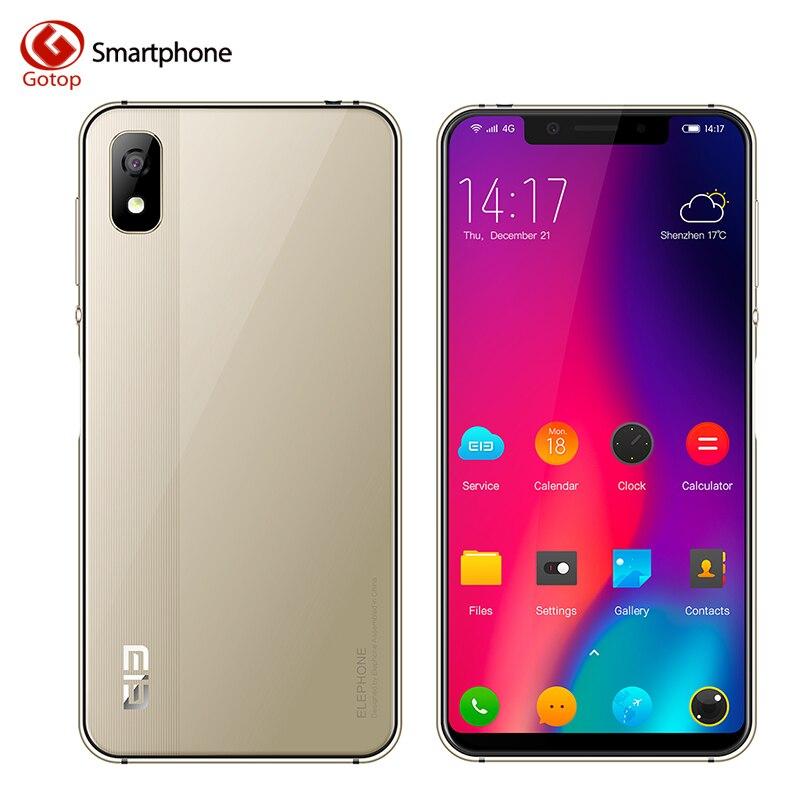 Elefon A4 Handy 5,85 zoll Kerbe Bildschirm Android 8.1 Dual SIM Smartphone 3 gb RAM 16 gb ROM 3000 mah gesicht/Fingerpringt ID