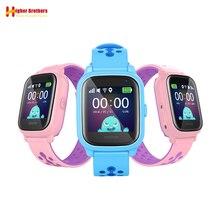 IP67 Waterproof Smart GPS WIFI Tracker Locator Kids Baby SOS Call Remote Monitor Camera Alarm Sim Smartwatch Watch Wristwatch цена