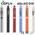 Original Joyetech eGo Aio D16 All In One Style Starter Kit 1500mAh Battery with 2ml Atomizer Tank BF SS316-0.6ohm MTL