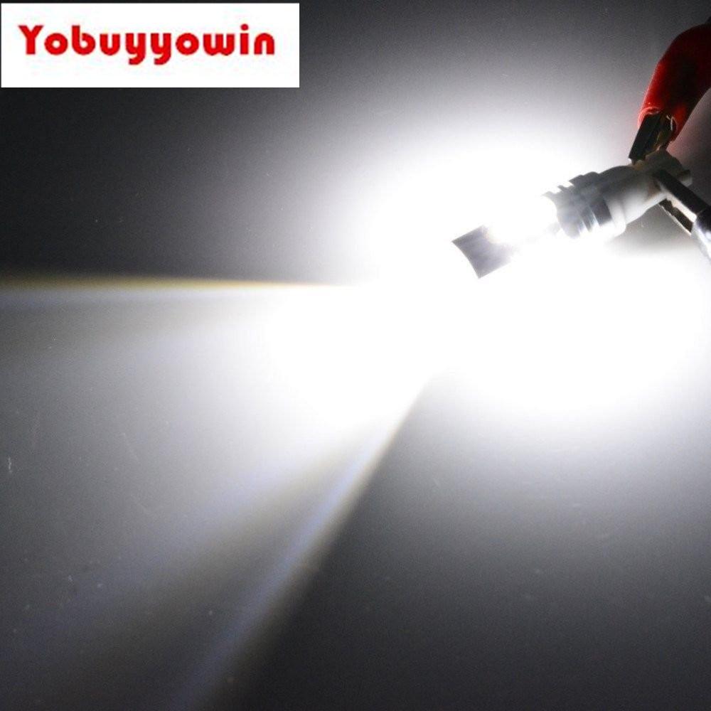 2pcs 50W Samsung 2323 SMD 6000k White 921 T10 T15 Backup Reverse LED Lights Projector Lens Bulbs gorenje vck 2323 ap dy в украине