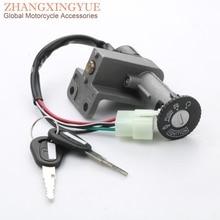 Штепсельные Вилки 4 скутер электрический дверной замок для TAOTAO VIP50(CY50A), Китай(материк) GY6 50cc 125cc 150cc