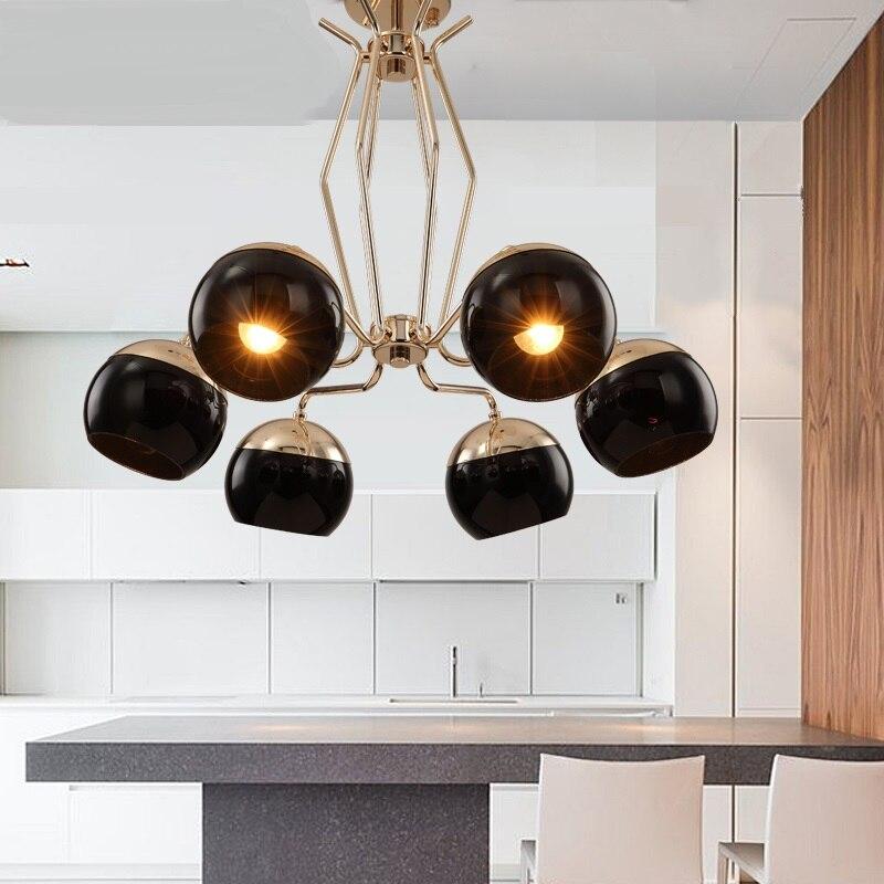 Pós-moderno minimalista restaurante Luzes Pingente de designers personalidade Nordic quarto ferro lâmpadas LED pingente LU621 ZL111