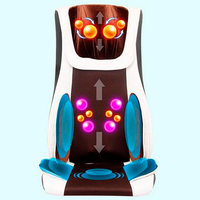 Vibrator Thai 4D Back Kneading Massage Chair Neck Shiatsu Massager Air Compression Massage Chair For Sale