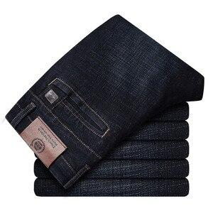 Image 1 - 2017 autunno Inverno Addensare Smart Casual Jeans di Modo Degli Uomini Del Denim Dei Pantaloni di Marca di Abbigliamento 30 42 Jeans 327B