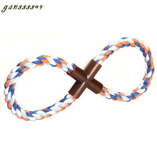 Cotton Rope Chew Catching Toys Pet Dogs Toy Large Breed Dog Products Teeth Molar Bit Resistant Great