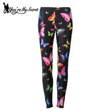 Butterfly 3d Print Leggings