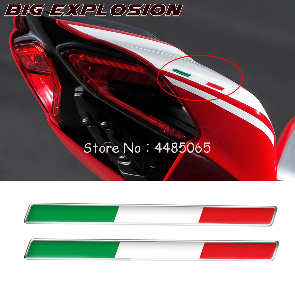 Motorcycle 3D Sticker Motorcycle Tank Decals Resin Stickers Motorbike Body Sticker For Ducati RV4 RSV4 Decals