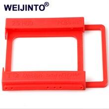 """2,"""" до 3,5"""" SSD HDD экологический пластмассовый адаптер Монтажный кронштейн держатель жесткого диска для настольного ПК"""