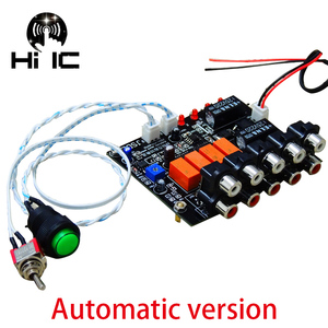 Image 3 - 4 Input 1 Output Lossless Audio Source Signal Switcher Switch Selector Board Box Sound HiFi Audio Signal Splitter