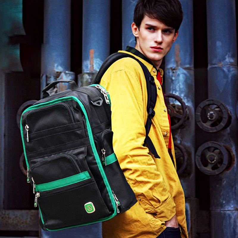 LAOA Shoulders Backpack Tool Bag Multictional Oxford Fabric Electrician Bags Water Proof Knapsack Storage Tools