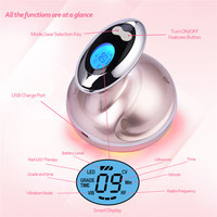 Ultrasonic Facial Body Slimming Massager RF Cavitation Therapy Fat Removal Burner LED Photon Skin Rejuvenation Weight Loss P49