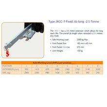 Горячая Распродажа аксессуары для электропогрузчиков вилочный погрузчик JXCC-7 фиксированная стрелы long-2.5Tonne