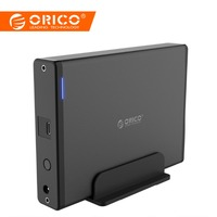 ORICO Aluminum 3.5 inch Type C USB3.1 To SATA3.0 External Case HDD SSD Hard Drive Disk Enclosure Dock Storage Box 5GBPS 8TB