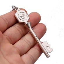 Fairy Tail Lucy Cosplay Twelve Spirit little Dog Key Shape Keychain