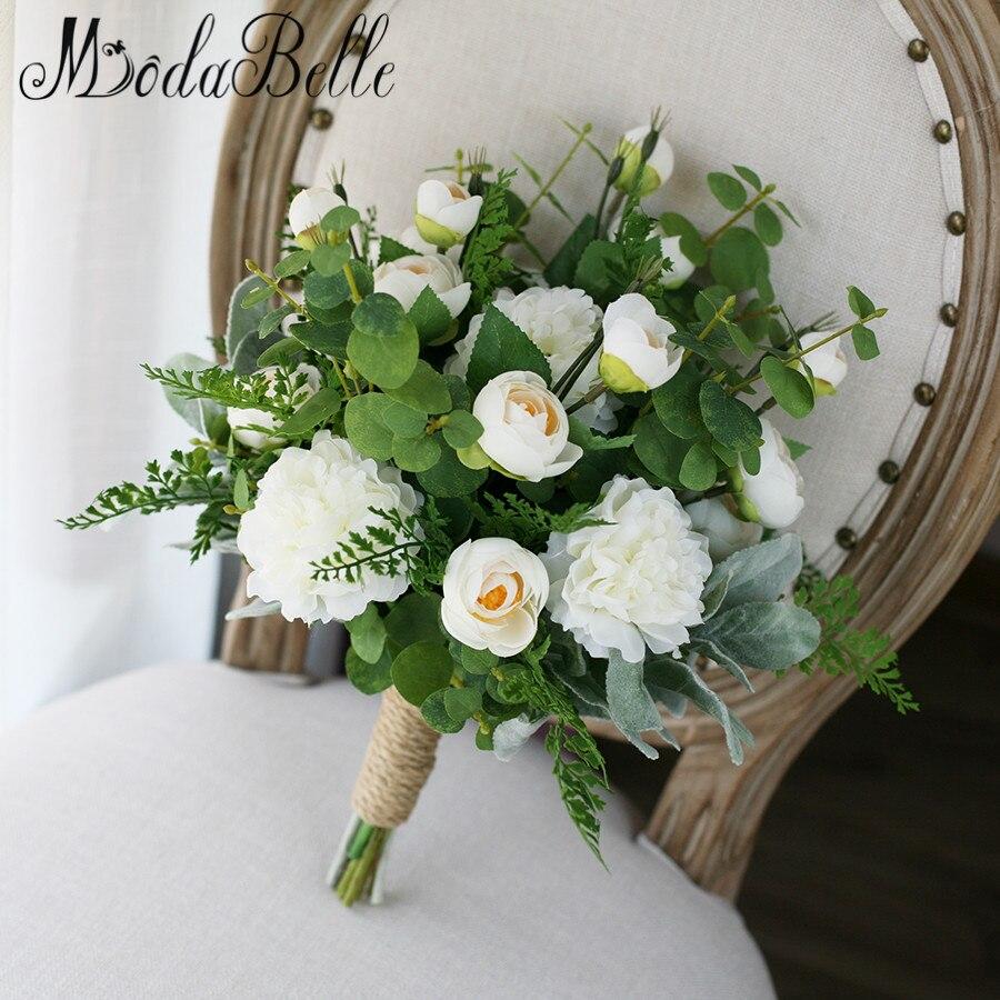 Букет невесты зеленый